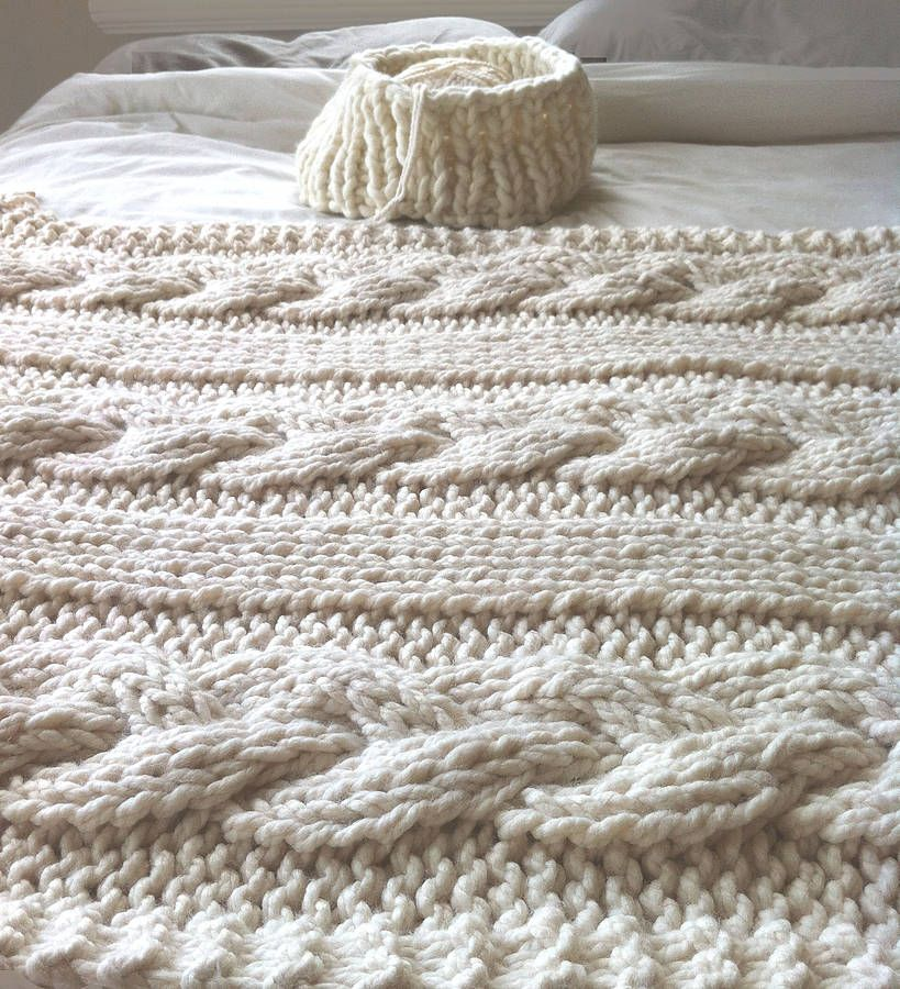 knit cable blanket - Google Search   Chales, Ponchos, Rumanas y ...