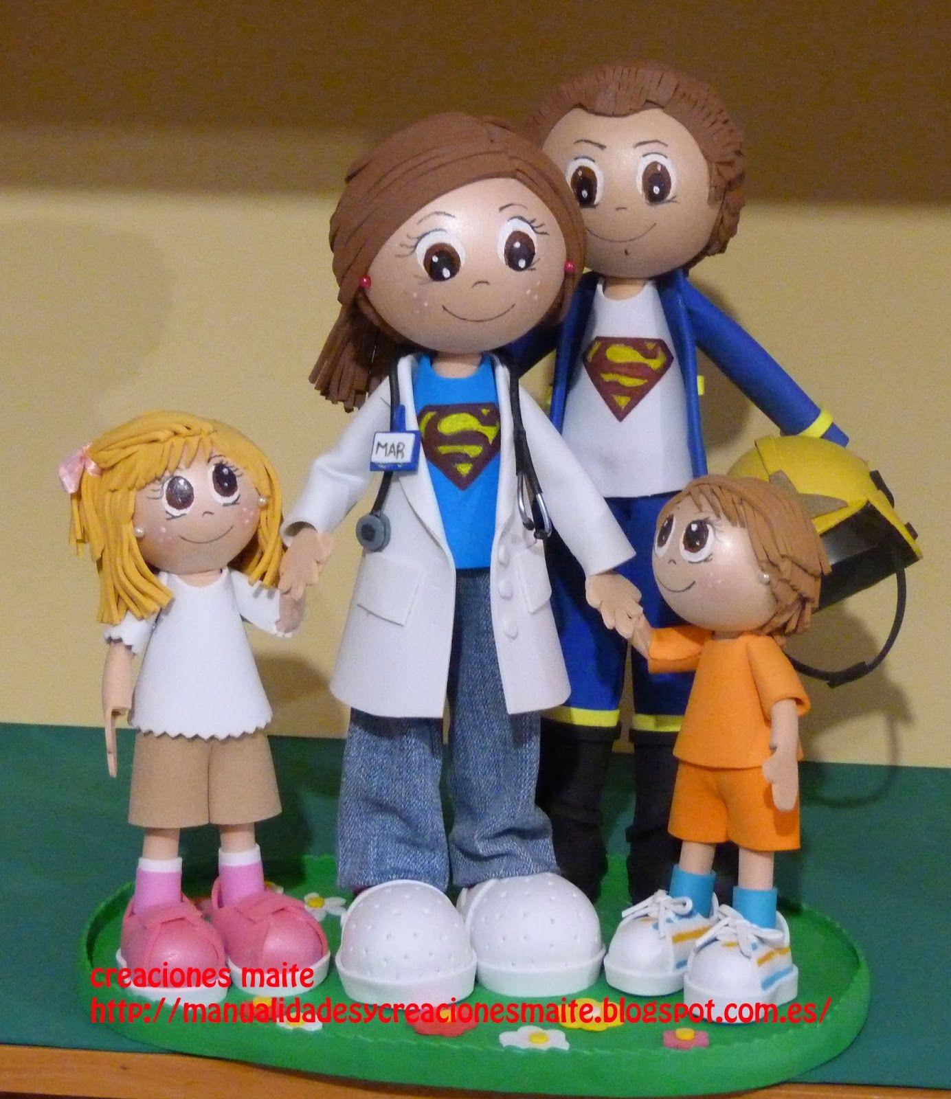 Fofuchas manualidades y creaciones maite familia for Manualidades en familia