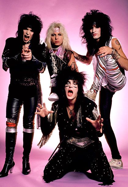 The Fug Girls Look Back At Eighties Hair Band Style Slideshow Vulture Motley Crue 80s Hair Bands Motley Crue Poster