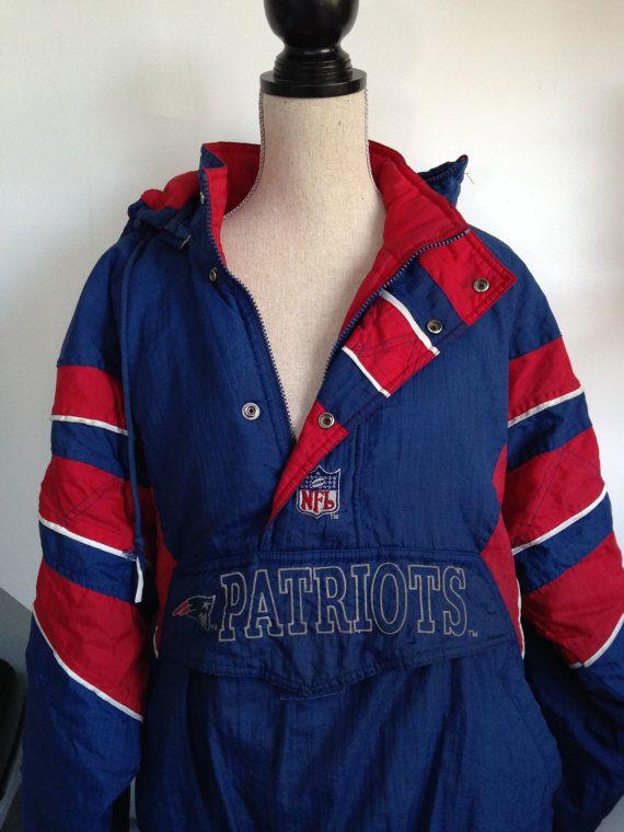 pretty nice ed6c4 9a241 Vintage Patriots Starter Jacket by 21Vintage on Etsy ...