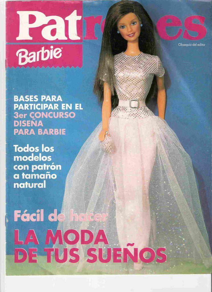 PSICOPEDAGOGIA Y SUS TEMAS: moldes ropa barbie --- patrones BARBIE ...