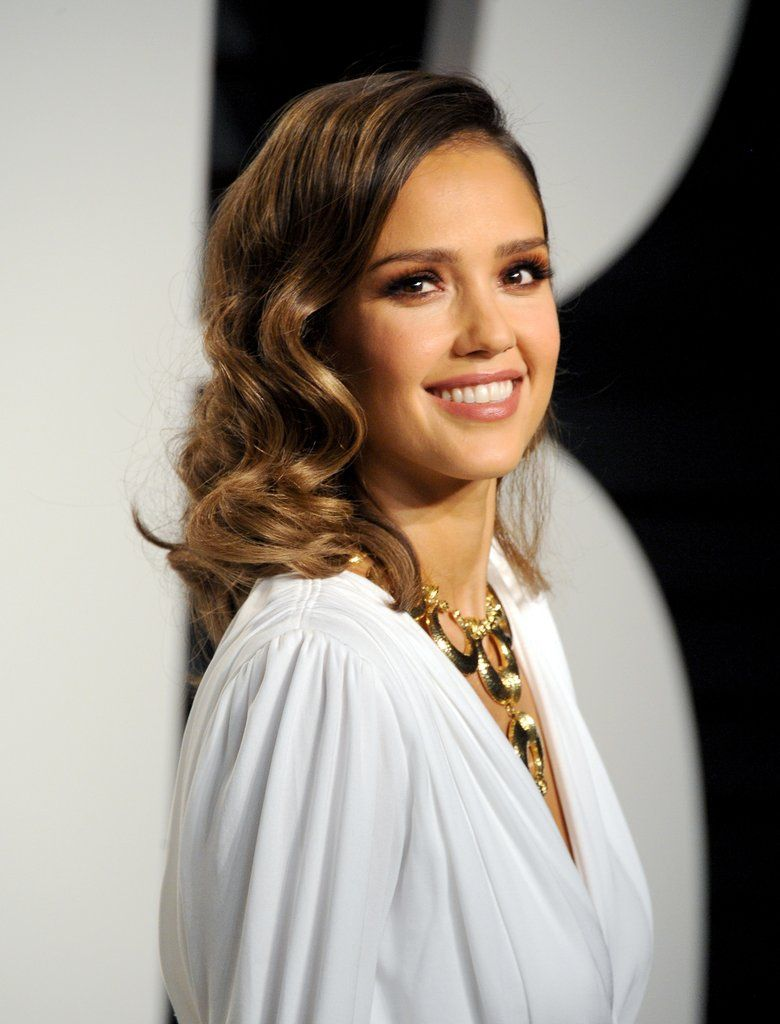 Tribeca film festival program celebration jessica alba hair