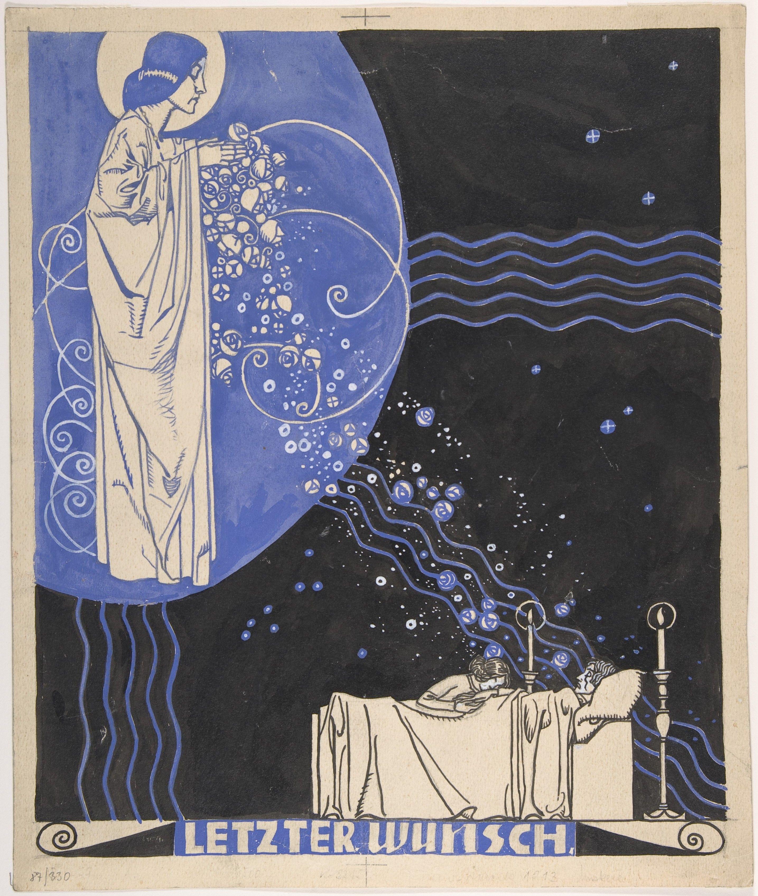 Franz Wacik (1883-1938), Letzter Wunsh, early 20th century.