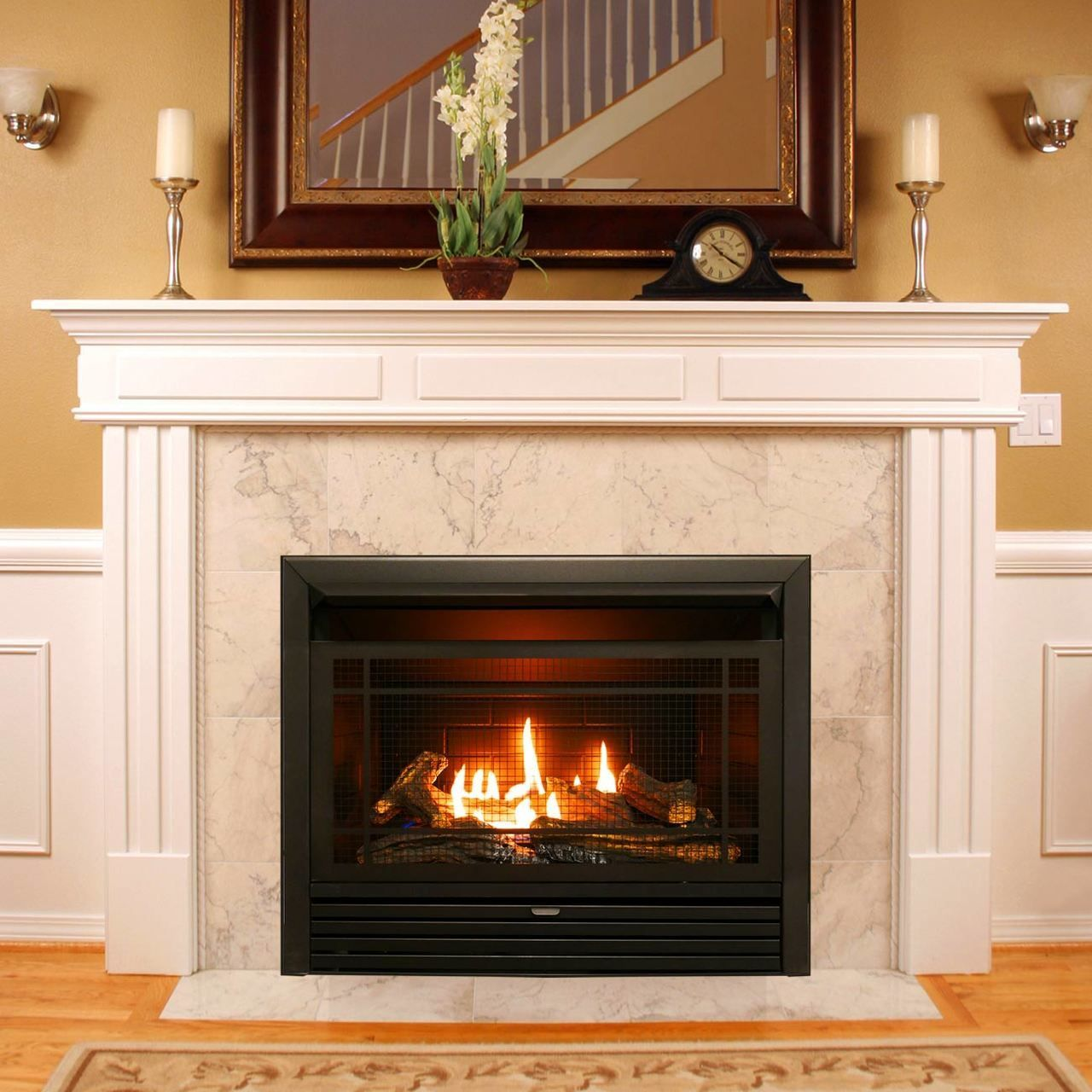 Duluth dual fuel ventless fireplace insert 26000