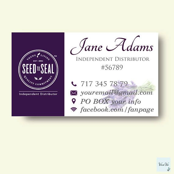 Young living business card essential oils business card young young living business card essential oils business card colourmoves