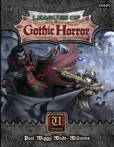 Leagues of Gothic Horror RPG; Light your lamp, check the doors and windows are locked, and prepare to enter a world where the arcane and occult are very real.  For all of mankind's advances in science, the world remains a realm of mystery and supernatural occurrences. The Victorian Era is the age of sinister fictional and historical villains, such as Count Dracula, Mr. Hyde, and Jack the Ripper, and an age when interest in the occult reaches new heights.