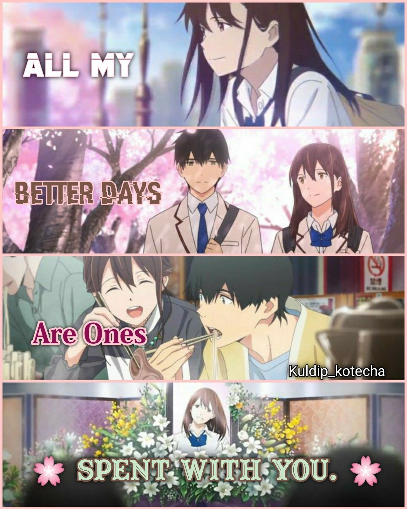 I Want To Eat Your Pancreas Anime Love Quotes Anime Quotes Anime Love