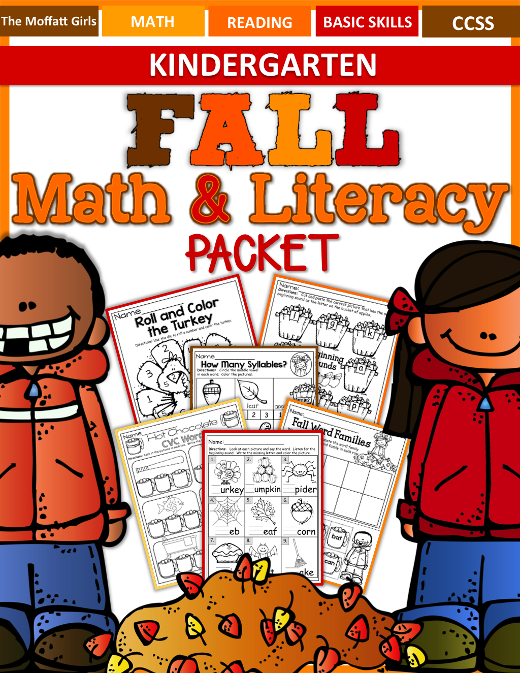 The Perfect Fall Packet It Has Tons Of Kindergarten