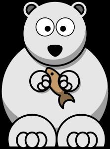 Clipart Cartoon Polar Bear Polar Bear Cartoon Polar Bear Coloring Page Baby Polar Bears