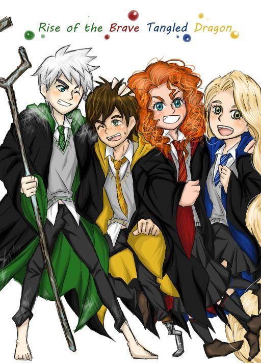 Pin By Dark Angel On The Big 4 Disney Hogwarts The Big Four Disney And Dreamworks