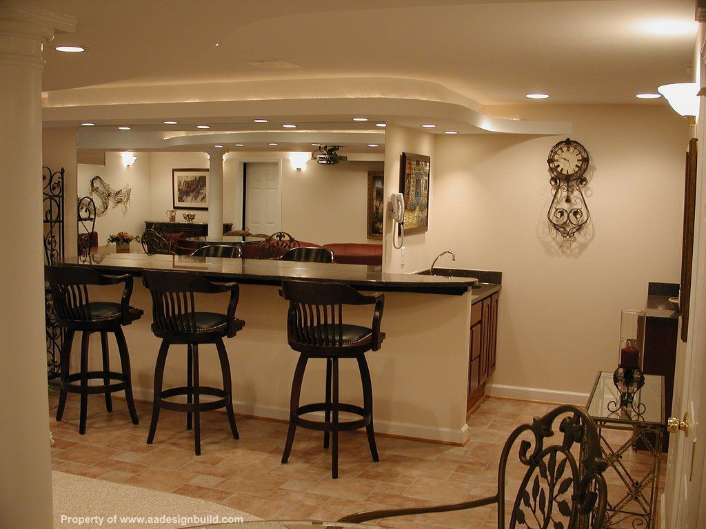 "Finished Basement Bars 63 Finished Basement ""man Cave"" Designs Awesome Pictures"
