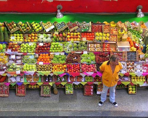 Comiendo una media de 7 piezas de fruta por día. En esto Brasil da gusto.