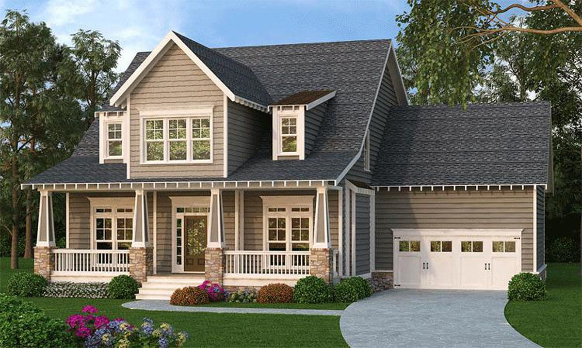 Plan 75525gb Deluxe Master Suite Bungalow Style House Plans Craftsman House Plans Craftsman Style House Plans
