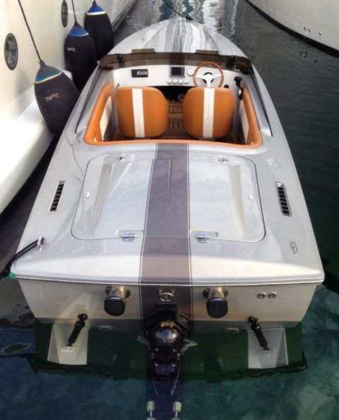 2015 Donzi 22 Classic   Ocean Motion   Runabout boat, Motor