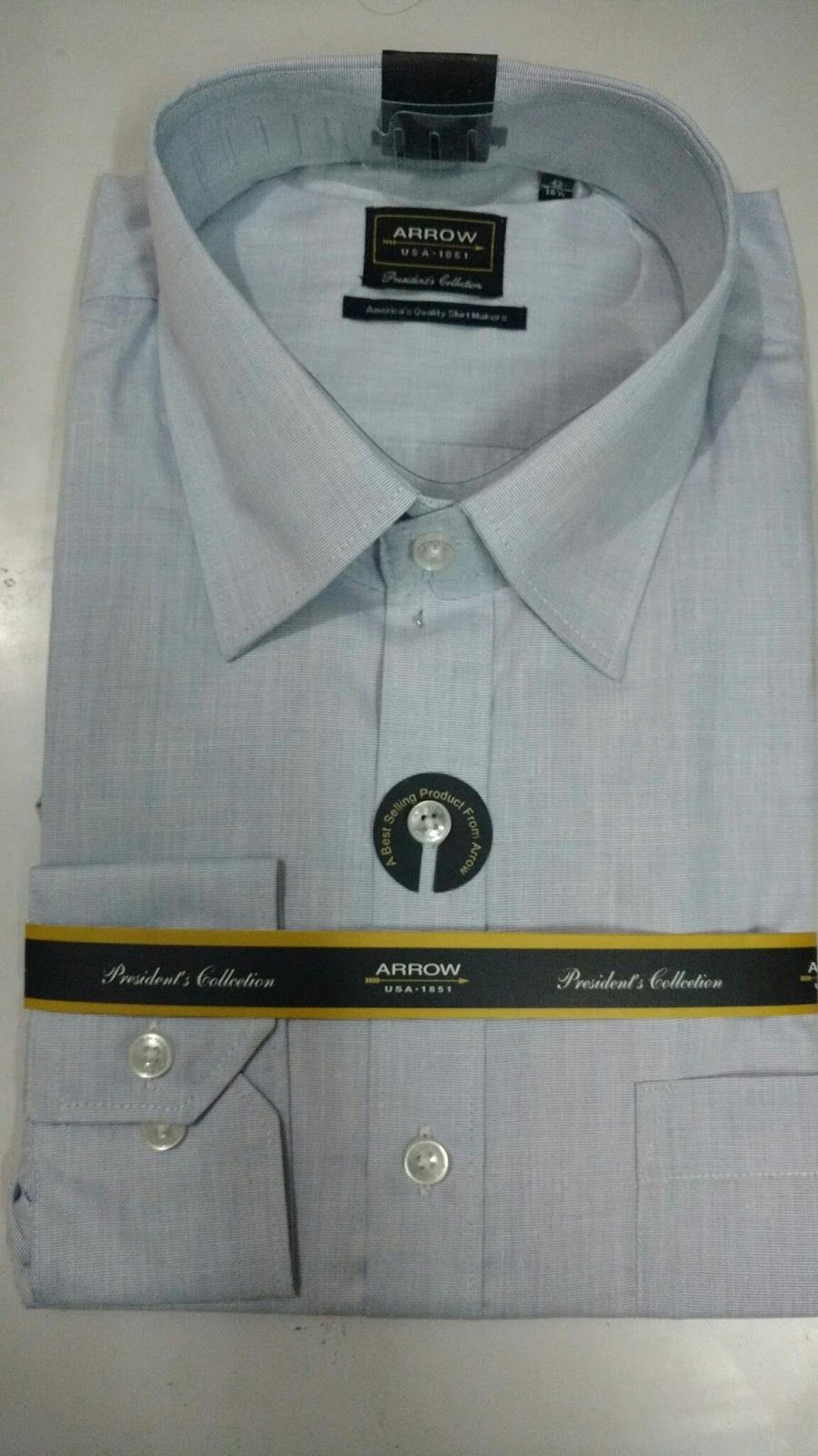 Arrow Original Light Blue Shirt, MRP- Rs 2299 | Branded Products For Sale Call / Whatsapp @ +919560214267.