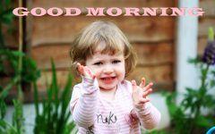 Good Morning Cute Baby Girl Image Archidev