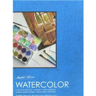 Master S Touch 6 X 8 Watercolor Pad Shop Hobby Lobby 1 50 For