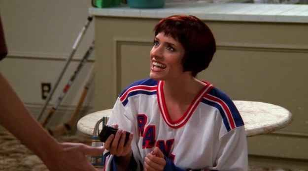 The Definitive Ranking Of Notable Guest Stars On Friends Paget Brewster Paget Matthew Gray Gubler