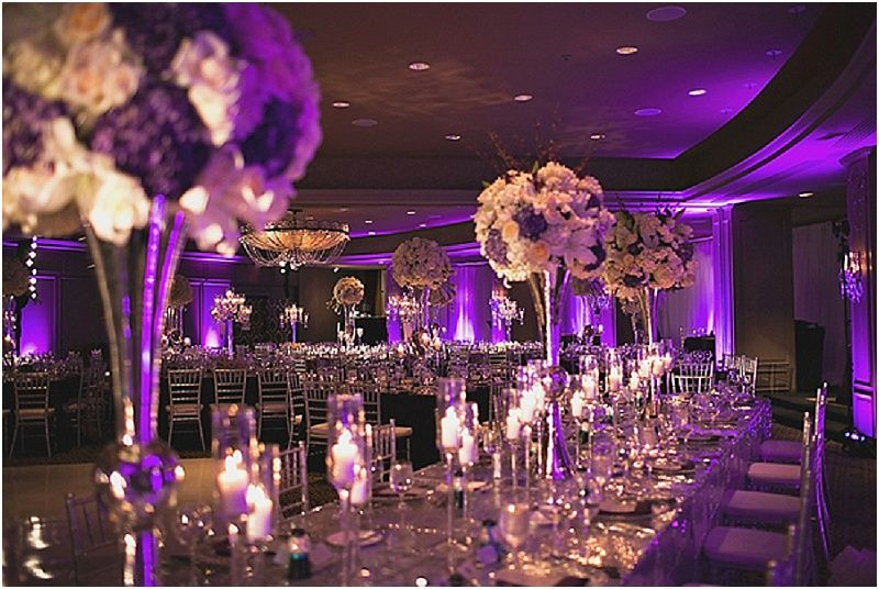 Purple And Silver Houston Wedding By Sassani Photography