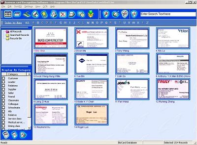 Business card scanner software the best contact management business card scanner software the best contact management software for windows pinterest reheart Images