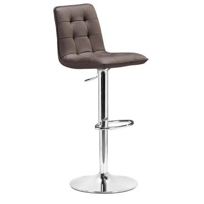 Coordinating Barstool For Bar And Lounge Area Seating Adjustable Bar Stools Black Bar Stools Zuo Modern