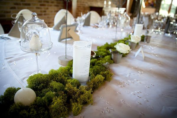 Idée décoration de table mariage nature chic | Mariage, Wedding and ...