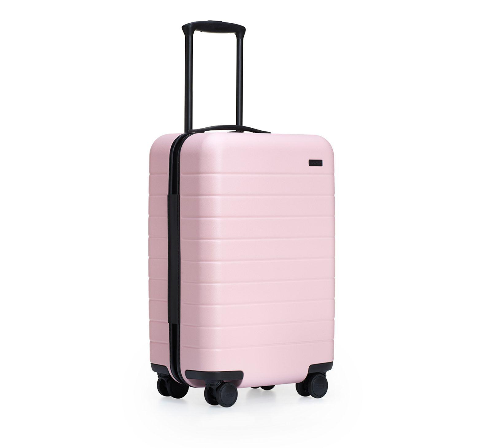 Hard Pink Suitcase