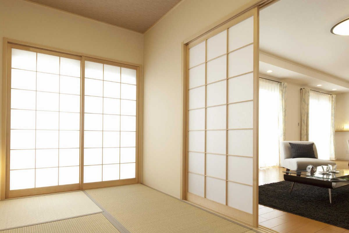 panneau coulissant cloison japonaise