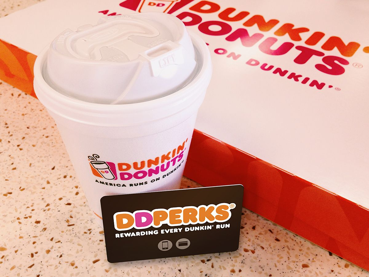 Do you run on dunkin sign up for dd perks rewards and