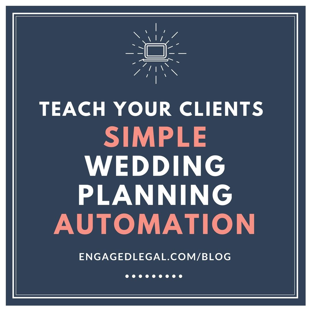Tech Tutorial: Teach Clients Simple Wedding Planning