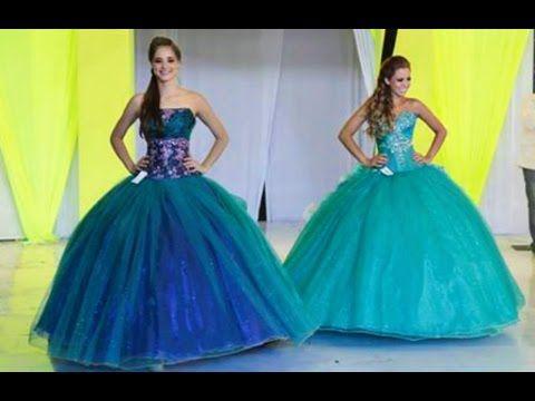 4f98f6748 Vestidos de 15 años por Eos Cordero Expo 15 México - YouTube ...