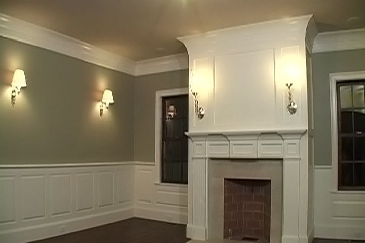 wall trim an impressive crown molding profile or cornice is an easy way to add living. Black Bedroom Furniture Sets. Home Design Ideas