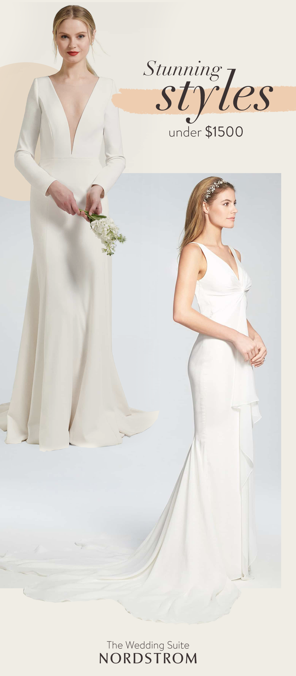 Rally Your Favorite People And Try On Gowns Beautifully Within Budget At The Nordstrom Wedding Suit Wedding Dress Inspiration Wedding Suits Wedding Suit Styles
