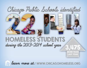 22 144 Homeless Students Enrolled In Chicago Public Schools This Past Year Chicago Coalition For The Homeless Chicago Public Schools Public School Student