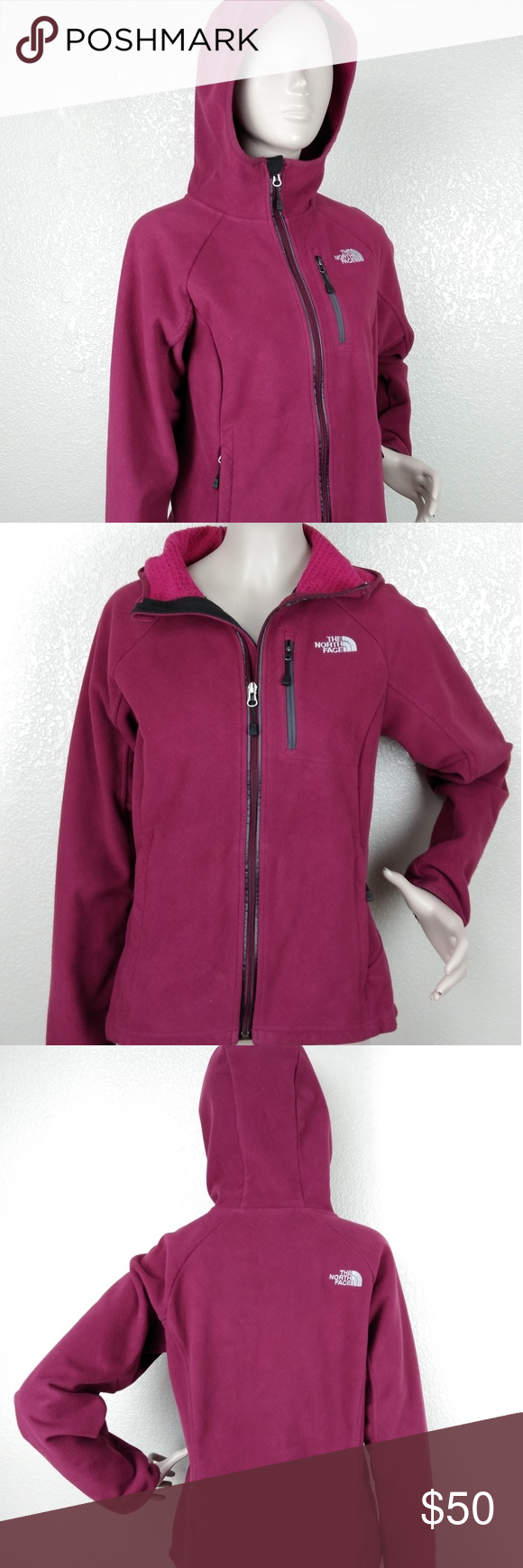 The North Face Windwall Burgundy Hooded Jacket The North Face Windwall Women S Burgundy Full Hoodie Jacket Size North Face Jacket Hooded Jacket Clothes Design [ 1740 x 580 Pixel ]