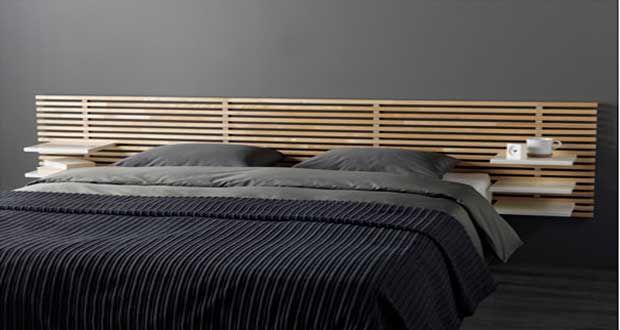l 39 objet d co du jour une t te de lit originale chambres. Black Bedroom Furniture Sets. Home Design Ideas