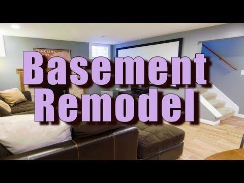 Derby Basement Remodeling Contractor YoutubeMzVbRmstWjI Gorgeous Basement Remodel Contractors