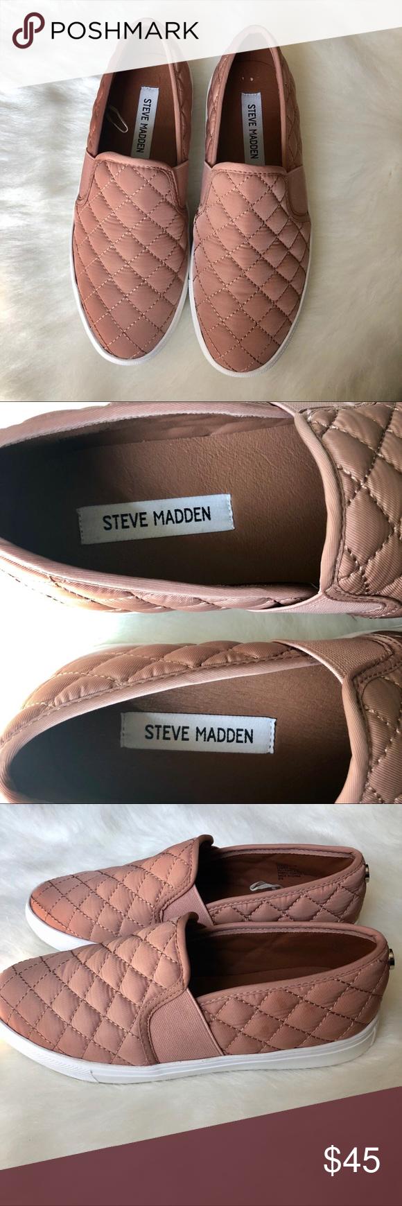 NWOT Steve Madden Blush Endell Slip-On