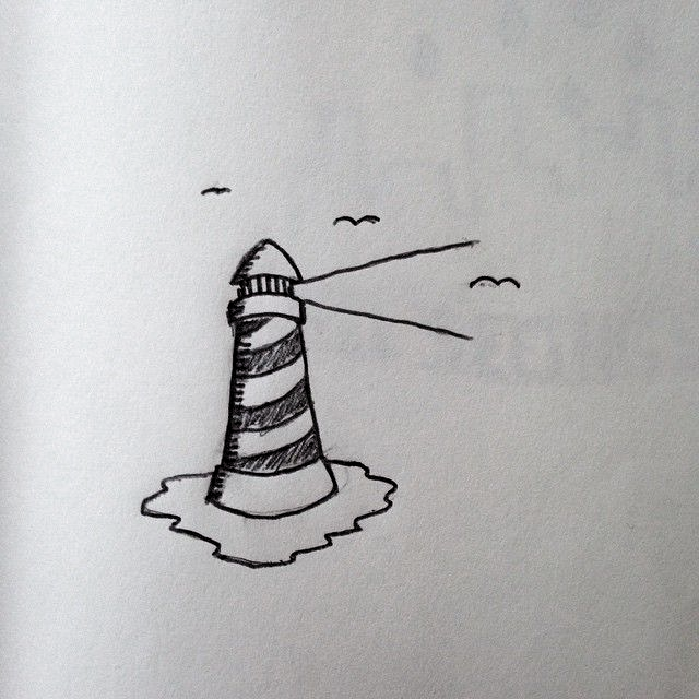 Going through some old sketchbooks, and found this little guy. #drawing #art #penandink #doodle #sketch #sketchbook #blackandwhite #bw #lighthouse #sea #ocean #birds #light #micron #design #graphicdesign #tattoo #tattoodesign #sailortattoo #lighthousetattoo