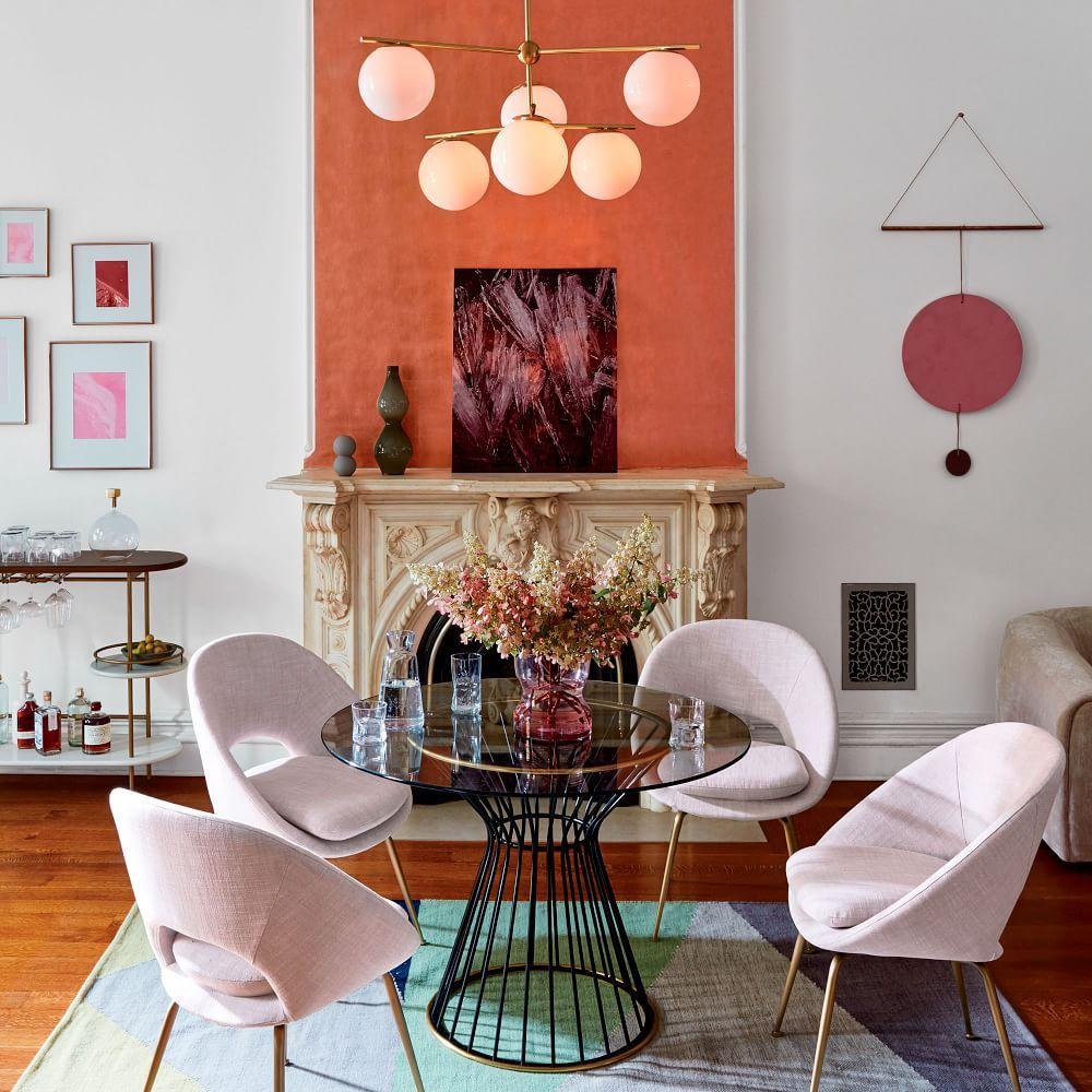Sphere Stem 6 Light Chandelier Milk Home Decor Trends Trending Decor Home Decor