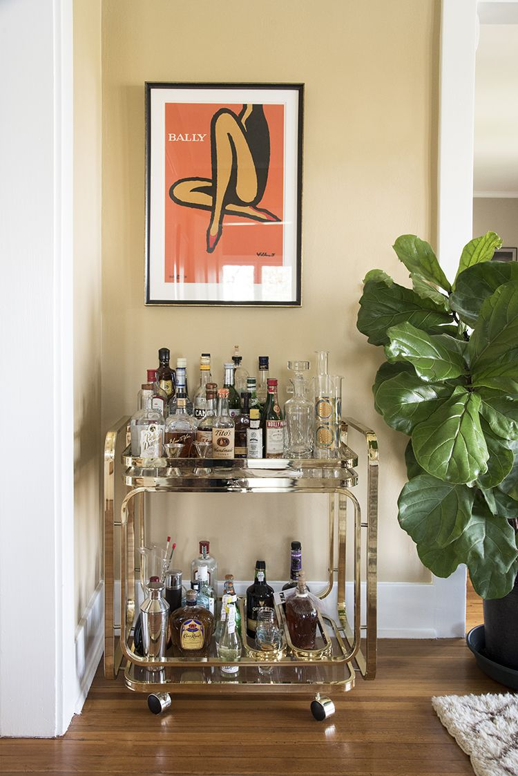 A Collected Dining Room · Bar Cart ...
