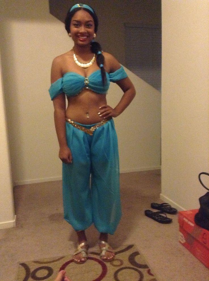 Jasmine costume holidays pinterest costumes halloween ideas jasmine costume solutioingenieria Images