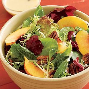 Georgia peach salad--sounds delicious!