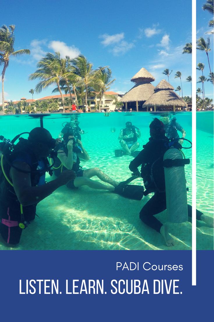 Padi dive courses in punta cana scuba certification puerto dominican republic padi scuba certification 1betcityfo Images