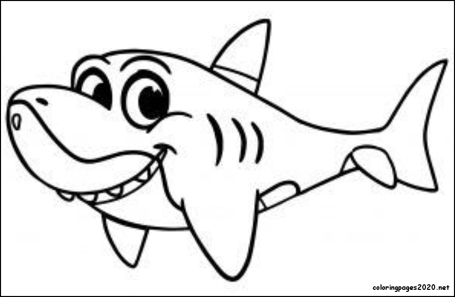 6 Baby Shark Coloring Pages Printable Di 2020