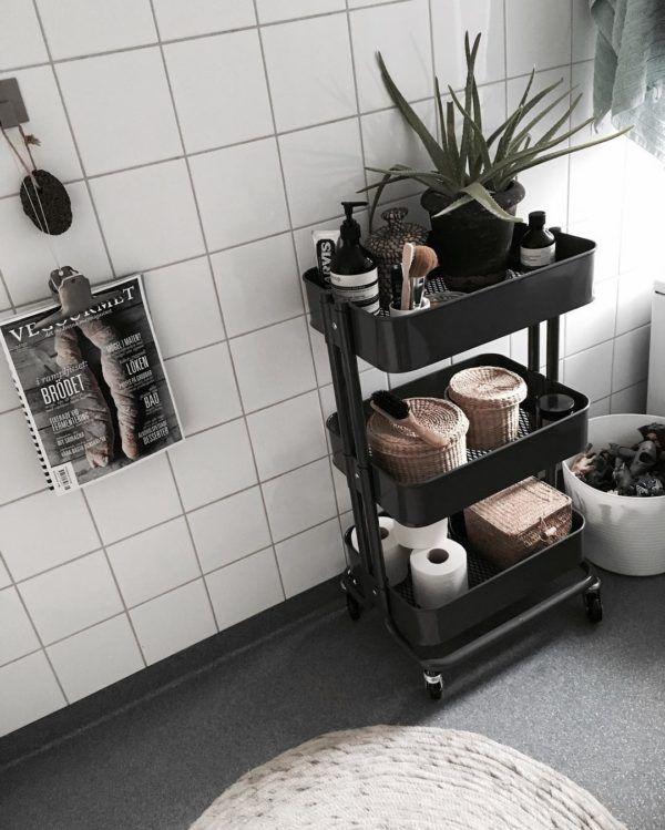 便利でお洒落 Ikeaのワゴンの使い方あれこれをご紹介 Folk 2ページ Apartment Decor Diy Bathroom Decor Interior