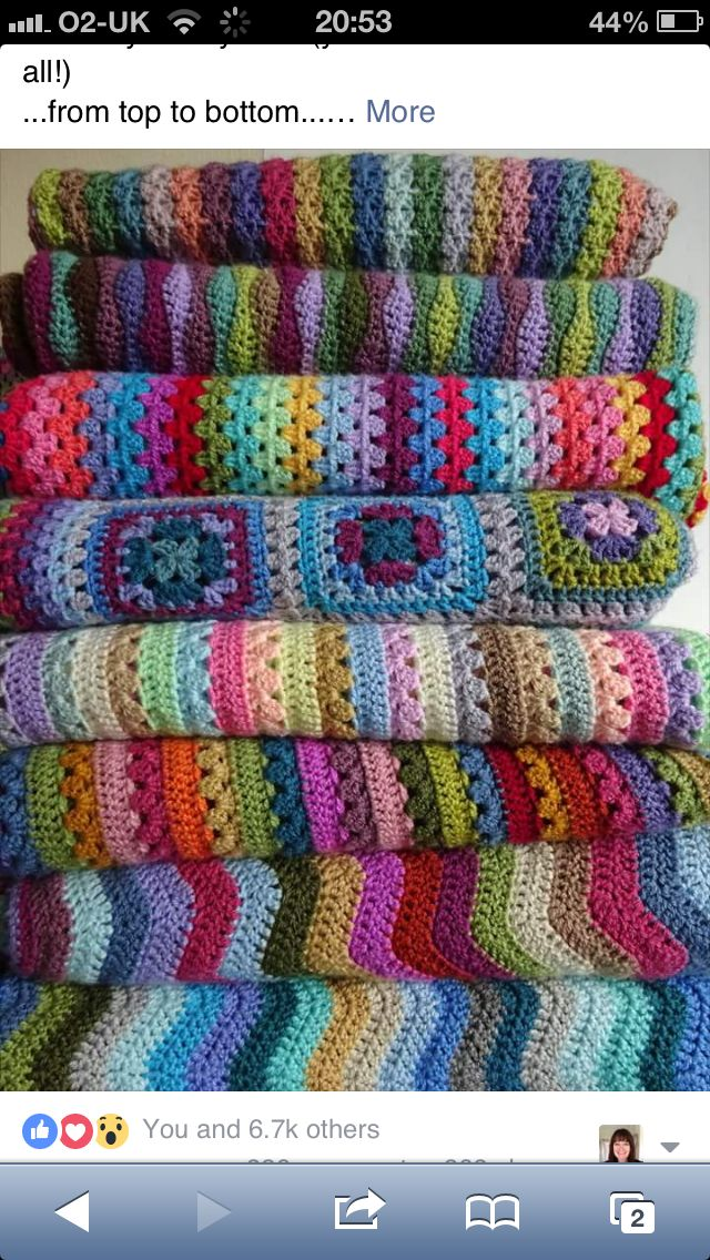 Love love love this stack of blankets