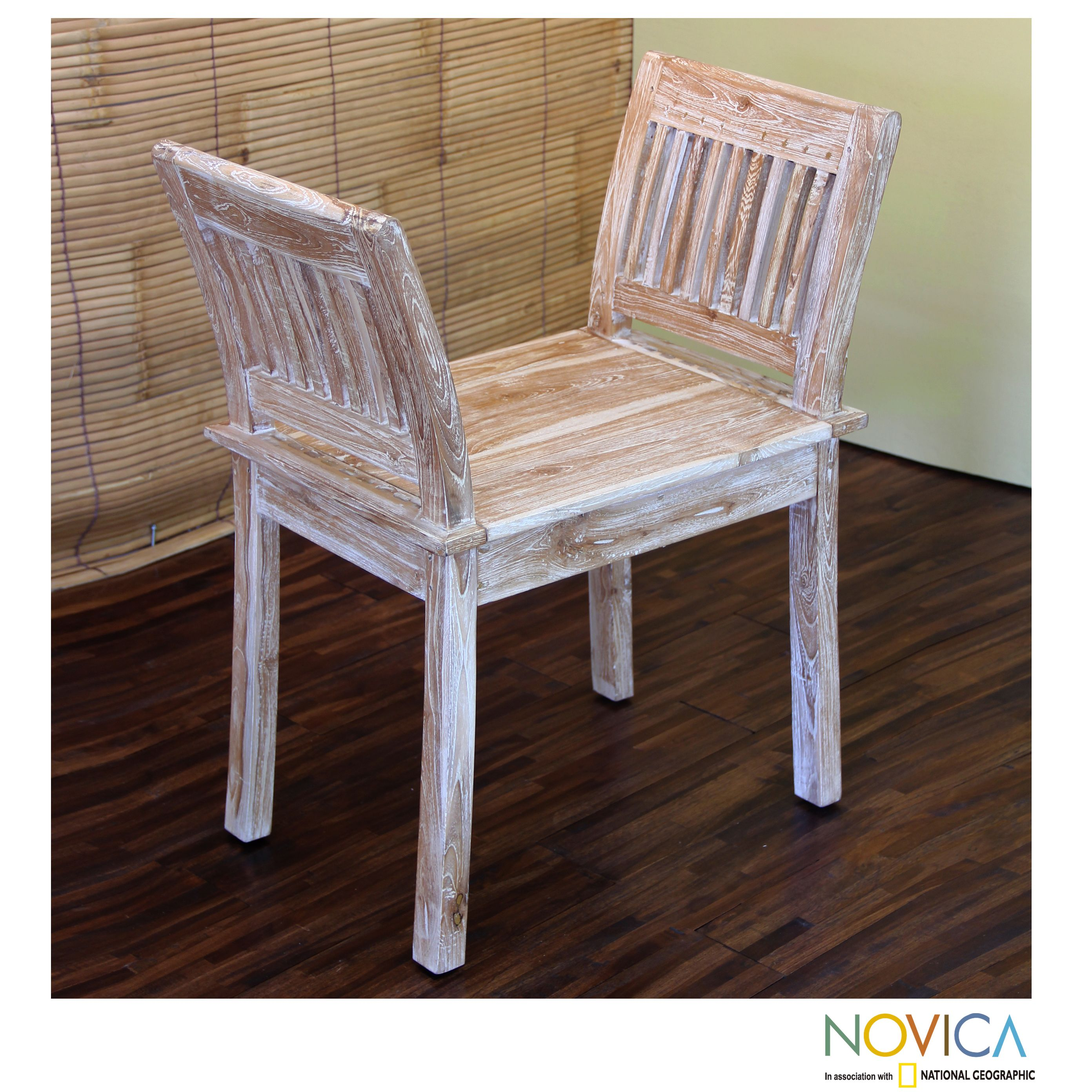 Handcrafted Teakwood Vintage Dynasty Chair Indonesia by Novica