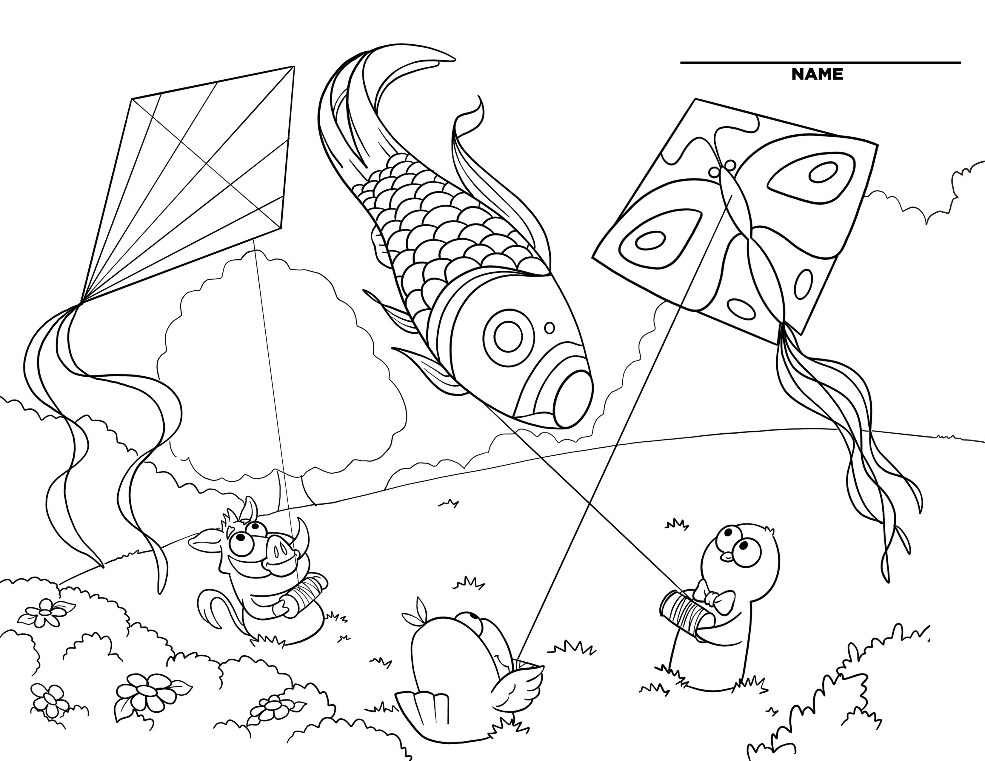 Ekidz Downloadable Coloring Book Page 4 Coloring Books Sketchbook Drawing Drawing Pad