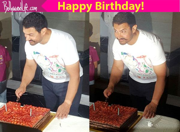 Aamir Khan celebrates his 51st birthday with the media  view pics!